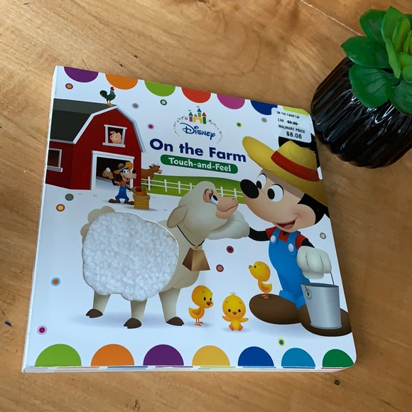New touch and feel Disney book
